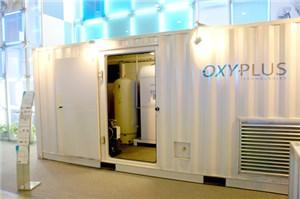 Кислородная станция в контейнере 20' Oxyplus Technologies