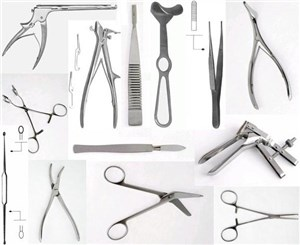 Акушерско-гинекологический операционный набор 77118 REDA