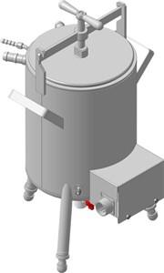 Парогенератор для пантовой паровой мини-сауны ТММ