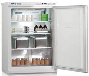 Холодильник фармацевтический с металлической дверью ХФ-140 ПОЗИС