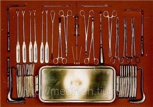 Набор для производства искусственного аборта (без кипятильника) НПИА Медтехника