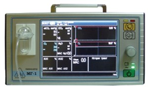 Монитор газоанализа МГ-1 ЭМО