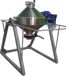 Смеситель сухих компонентов биконусный 170 литров с автоматизированной системой управления ССК-БК-170лАСУ ИЛТЕК-Пром