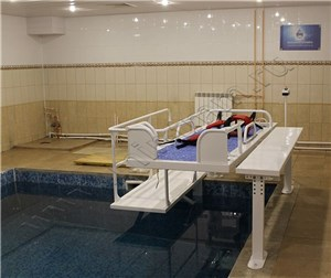Комплекс изделий для проведения вертикального подводного вытяжения позвоночника КИВ ПВП ТММ